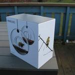 Eva Solo Vogelfutterhaus, Futterring oder Futterhäuschen Bird Feeder nein danke
