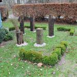Hanggarten Skulpturen - Kommunikation auf Augenhöhe