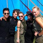 Fraulein Z - Herr Zimmerman Backstage @ Dance Valley 2012, Netherlands