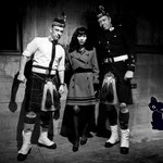 Fraulein Z & Scottish Guys - Herr Zimmerman - Factory 010 Rotterdam, Foto by Jeff Lanet (France)