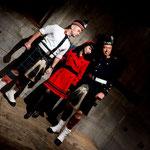 Fraulein Z & Scottish Guys - Herr Zimmerman - Factory 010 Rotterdam, Foto by Jeff Lanet (France)