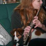 Bella ist sehr musikalisch