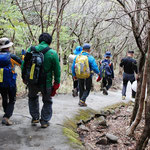 ⑥韓国からの団体登山者、海外からの登山者がどこでも増加の傾向にあります