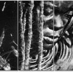 Himba 135x90 / dreiteilig