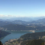 Bergpanorama auf den Monte Generoso