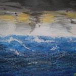 Mare aperto   75x58  mit Rahmen weiss                                                      VERKAUFT