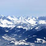 Bergpanorama von den säntis