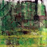 Periferia verde      60x60                                                                            VERKAUFT