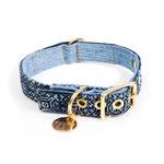 Vintage Batik Denim FMA Halsband