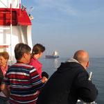 Überholen auf der Nordsee