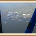 Der Wedeler Yachthafen