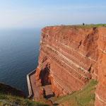 Roter Felsen auf Helgoland
