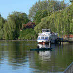 Anleger für die Fahrgastschiffe