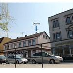 Besetzter Schornstein, Mühlenstrasse