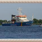 Ein Schiff der Küstenwache