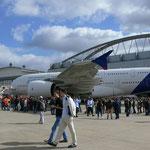 Hier noch einmal der Airbus A380
