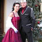 Prinzenpaar in Mähring 2005: Carolin I. und Peter II