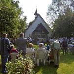 Festgottesdienst bei der St-Anna-Kirche