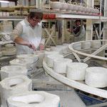 Porzellanherstellung in Mähring bei Familie Kilian