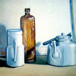 Bodegon, 50 x 70 cm. oil on canvas, 1997