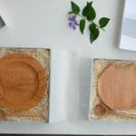パン皿 と まるスプーン