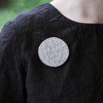 moonブローチ         ウォールナット                4.000円