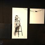 Photo : Fred B. Triptyque inspiré par une oeuvre originale de Benjamin Deroche photographe.