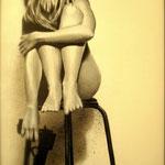 Triptyque inspiré par une oeuvre originale de Benjamin Deroche photographe.