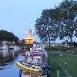 Halte à Dokkum, au coeur de la Frise