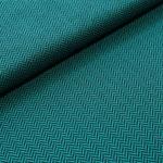 Stoffonkel - Kuscheljaquard - Smaragd