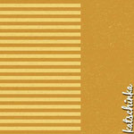Katschinka - Sommersweat - Stripes mustard