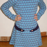 Kleid Alma - Gr. 86/92-146/152 - Schnitt Hedi