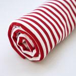 Stoffonkel - Ringel rot/weiß