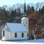 Kirche in Elend im Winter
