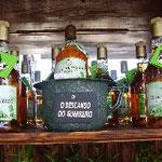"""""""El descanso del Guerrero"""" es el slogan publicitario del Licor más escatológico del mundo, de regalo con la compra de 3 botellas un práctico orinal."""