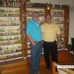 Visita a Juan Esteban Gross, Santiago de Chile.
