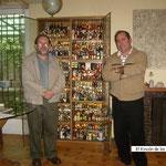 Visita a Antonio Galmez, Santiago de Chile.