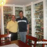 Visita a Eduardo Quiñones, Santiago de Chile.