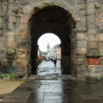 Porta Nigra II - ...and by some rain, which would soon cease to fall, however.