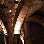 Arches - A wonderful atmosphere in this old, historical cellar.