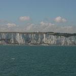 Die weissen Felsen von Dover