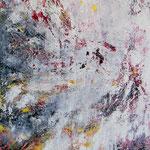 Matière 1 : huile et technique mixte 60 x 70 cm