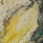 Glissade : huile sur toile 50 x 50 cm