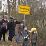 und haben es dann doch nach Lüdersburg geschafft