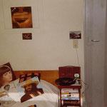 """Vue de ma chambre, avec les """" classiques"""" du moment..."""