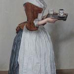 """Liotard """"Das Schokoladenmädchen"""", Öl auf Leinwand"""