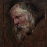 Rubens, Studie eines alten Mannes, Öl auf Leinwand