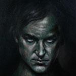 """Portrait Studie """"L""""/ Öl auf Hardfaserplatte / 30 cm x 40 cm"""