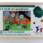 Couvercle plateau jeu La forêt en général