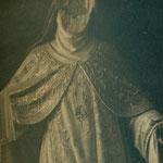 Santa Bérbara con la cara arrancada (Convento de las Concepcionistas).